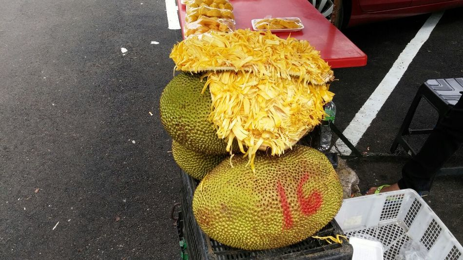 Day Genting Highlands Jackfruit Littlefoodtrail Malaysia Market Outdoors Tropical Fruits