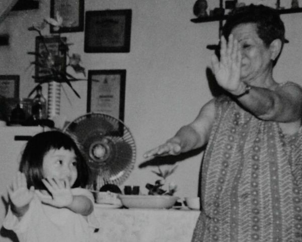 Get well soon, Lola Tess :* Family Photo