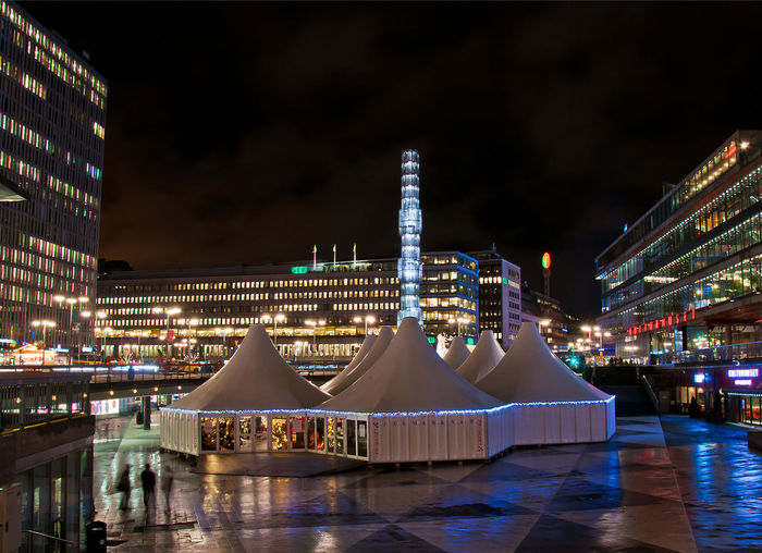 Sergels torg in winter Architecture Building Exterior Built Structure Center Christmas City Citycenter Cityscape Fair Illuminated Modern Night Nightlife Nightphotography No People Office Building Exterior Outdoors Public Square Rain Scandinavia Sergels Torg Sky Stockholm Sweden Travel Destinations #urbanana: The Urban Playground