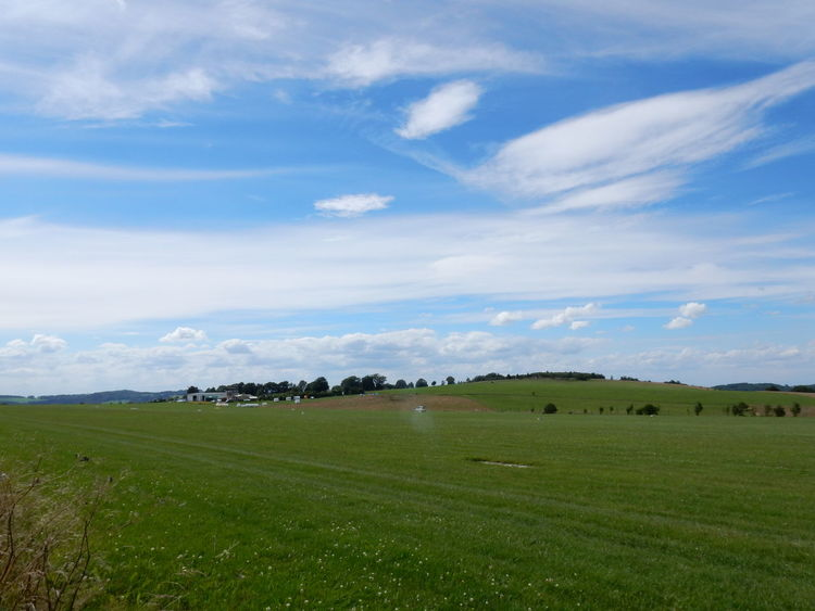 Agriculture Field Farm Cloud - Sky Landscape Rural Scene Grass Beauty In Nature No People Nature Sky Outdoors Day Scenics Cereal Plant Tree Freshness Sauerland Iserlohn Mountain Nature Tree
