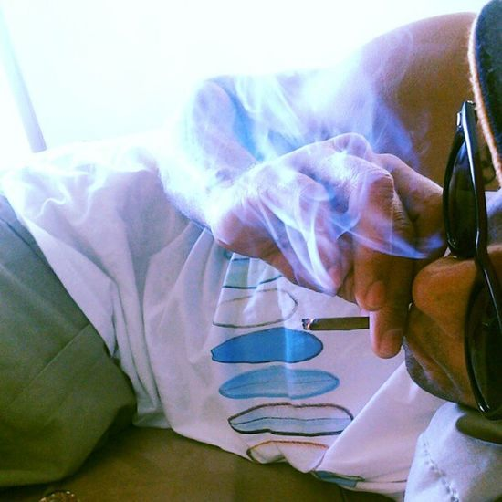 Blunt blowin polo drawls showin.... Late420 Loungin