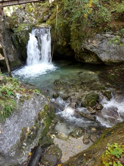 Waterfall Outdoors Calm Beautiful View Myrafällle Austria ❤
