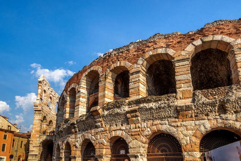 Verona Arena City City Life Cityscape Dom Santa Maria Matricolare Teatro Romano Di Verona Verona Amphietheater Amphitheater Arenadiverona Castel San Pietro Europe Italy Ponte Pietra Venetien