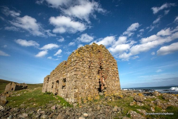 Abandoned Buildings Rathlin Island Ireland Ruins Northern Ireland Discover Northern Ireland