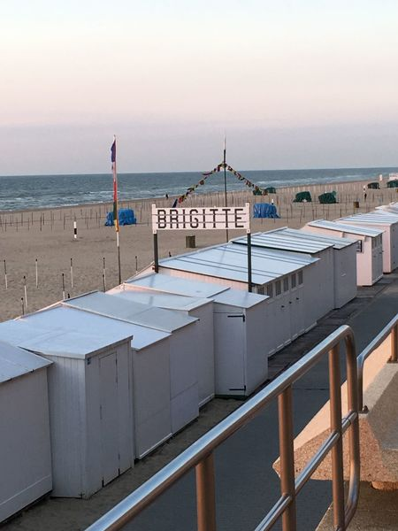 Beach Huts Beach Hut De Haan Belgium De Haan Belgian Coast EyeEm Selects Water Sea Sky Land Beach Horizon