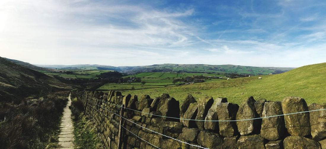~Stoodley Pike (UK)~ Field Beauty In Nature Scenics Nature First Eyeem Photo EyeEm Selects