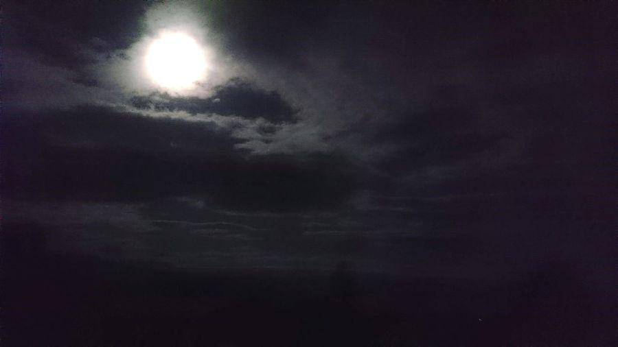 Silver lining Nightsky First Eyeem Photo
