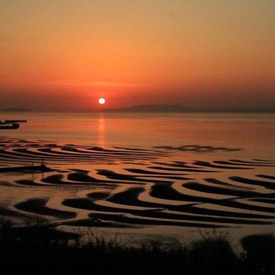 あ、早く勉強しないと夜になる(笑) まだ、テスト勉強してないやつWWW 画像は熊本県宇土市(たぶん)の、『なんとか海岸』誰か教えて(笑) 熊本 Kumamoto