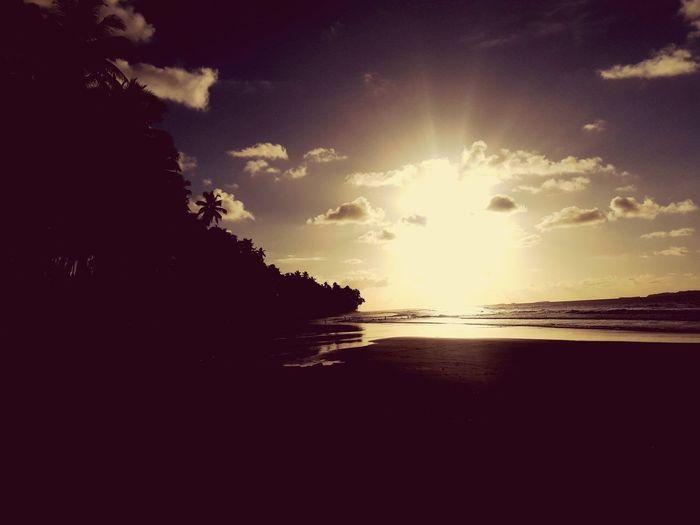 Sunset Sunset Photography Photo Scenery Scenery Shots Tobelo Halmahera Halmaherautara Water Sea Sunset Beach Silhouette Sunlight Sun Wave Sky Horizon Over Water