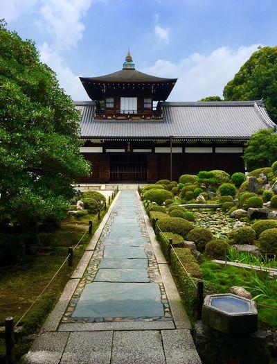 Chofukuji-Temple Japanese Tradition Japanese Garden Japanese Style Kyoto Style Architecture Religion Travel Destinations