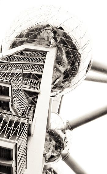 Atomium Built Structure Architecture Stairways Atomic Technology Tourism Destination Stairs_collection Architecture_collection Architectural Detail Architecture Photography Architecture Details Science And Technology Architectural Feature Black And White Collection  Black And White Collection  Black And White Collection  Noir Black And White Collection  Black And White Collection  Black And White Collection  Science Fiction ReflectionssReflection_collectionnSpheree