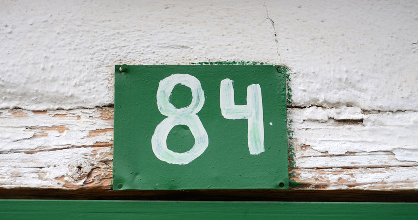 house number 84 43 Golden Moments 8 84 Architecture Built Structure Close-up Communication Day Door Number Green Green Color House Number No People Number Plate Orwell Outdoors Street Number