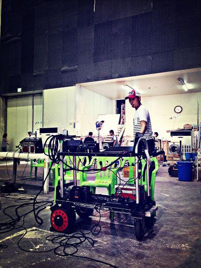 OneDay. Making Movies Shooting Waiting