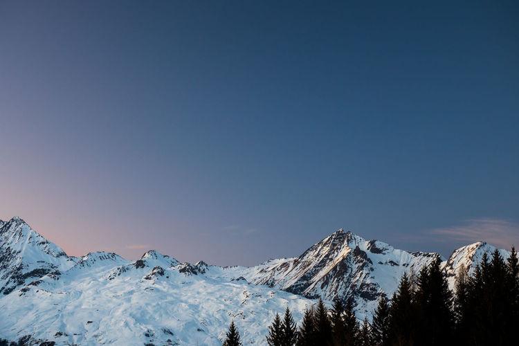 I went skiing