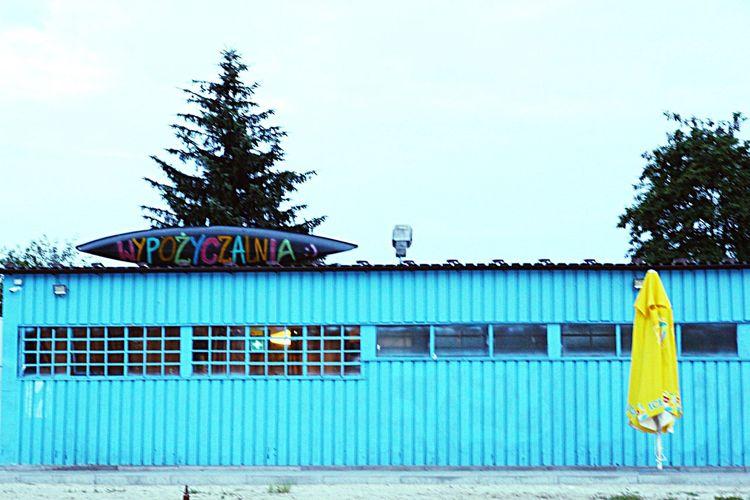 Blue Fotography Polishdandys Krakow,Poland Spacer Buildings Blue