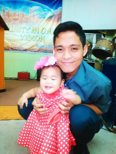 Jei with her ninong/godfather joseph