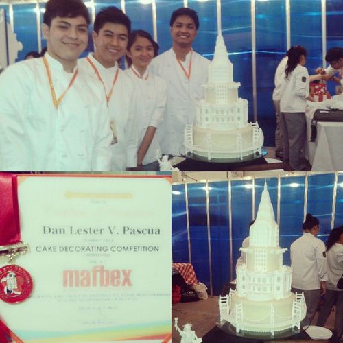 """""""Home of the Brave"""" won GOLD :D MAFBEX2013 CakeDeco"""