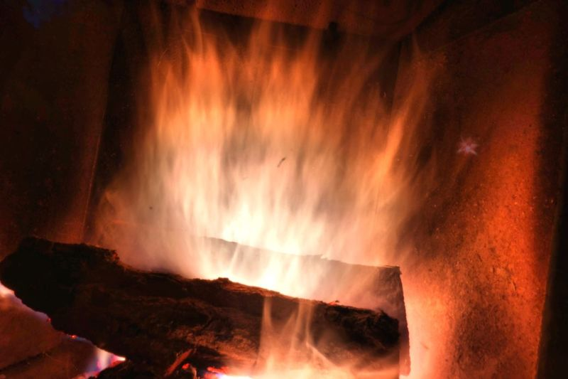 Feel The Heat Explosion In Flames Heat - Temperature Flame Burning No People Nature Hot Erupting Flames Wood Fireplace