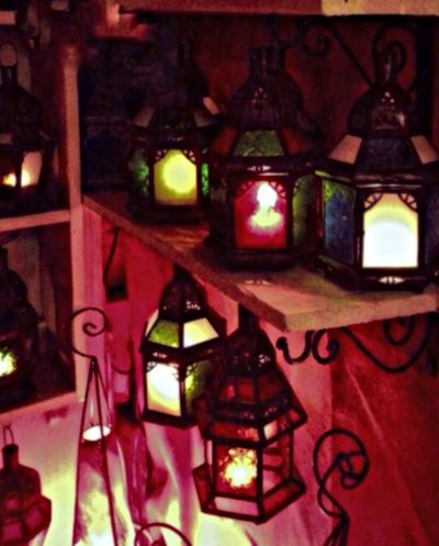 Lamplight Lanterns Light Up Your Life Market Stall