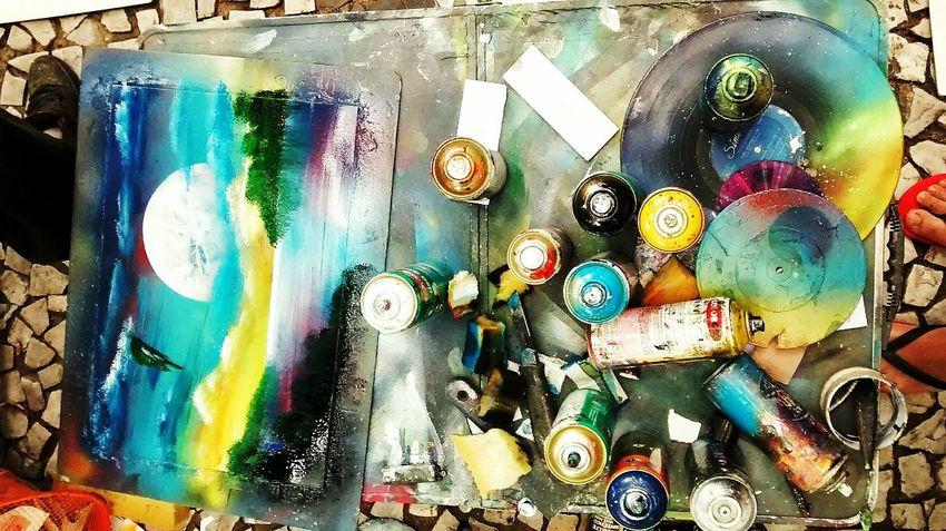 Streetphotography Street Art Aerography Art