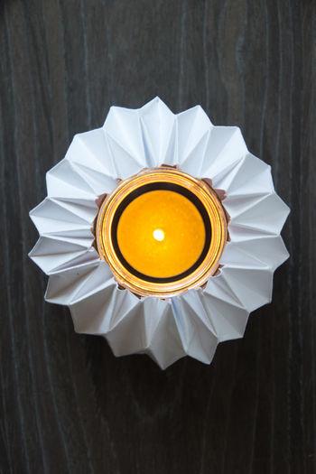 Kerze Kerzenlicht Candle DIY Diy Project Papier Paper Falten Doityourself