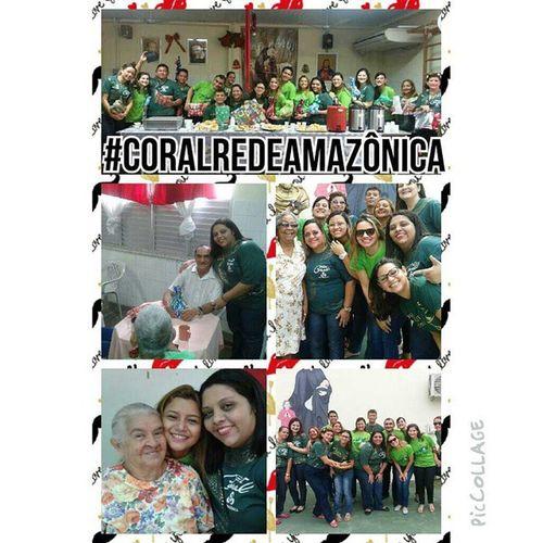 E ontem a nossa manhã foi muito proveitosa, regados com muito carinho e amor para os jovens de coração do Lar São Vicente de Paula Coralredeamazônica LeveUmPoucoDeAmorPraQuemPrecisa PicCollage
