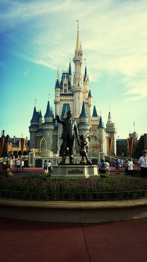 Disney World Mickey Mouse Cinderella Castle Walt Disney