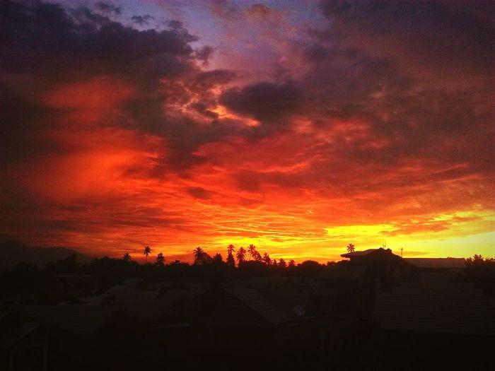Sunset sore itu