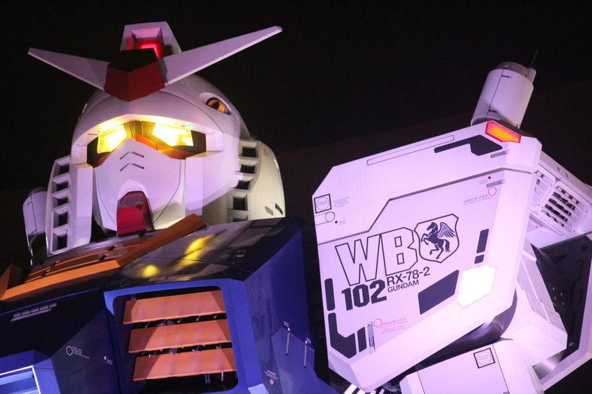 Gundam Model Gundam Front Tokyo Gundam Build Fighter Lights Sculpture Technology Everywhere