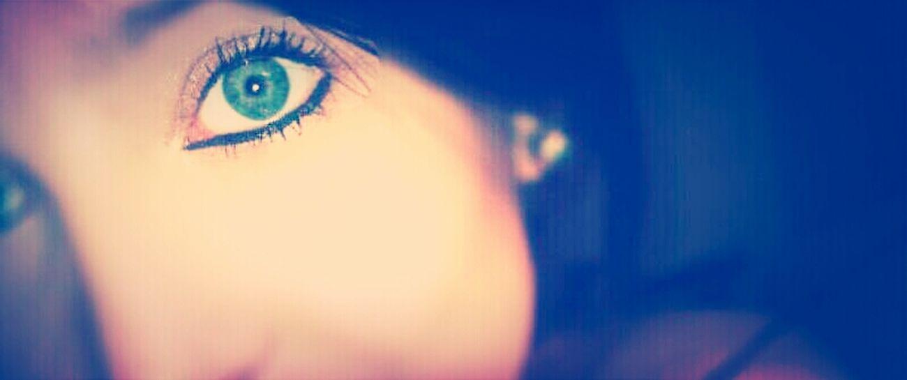 eyes never lie..