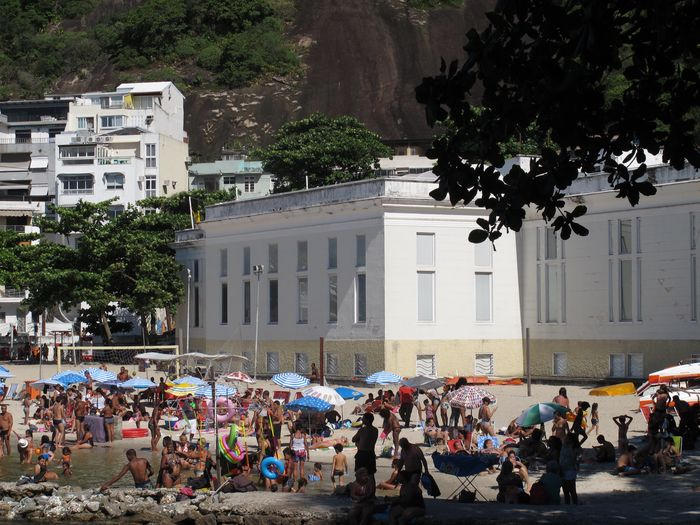 Urca Large Group Of People Tree Building Exterior Architecture Built Structure Real People Outdoors
