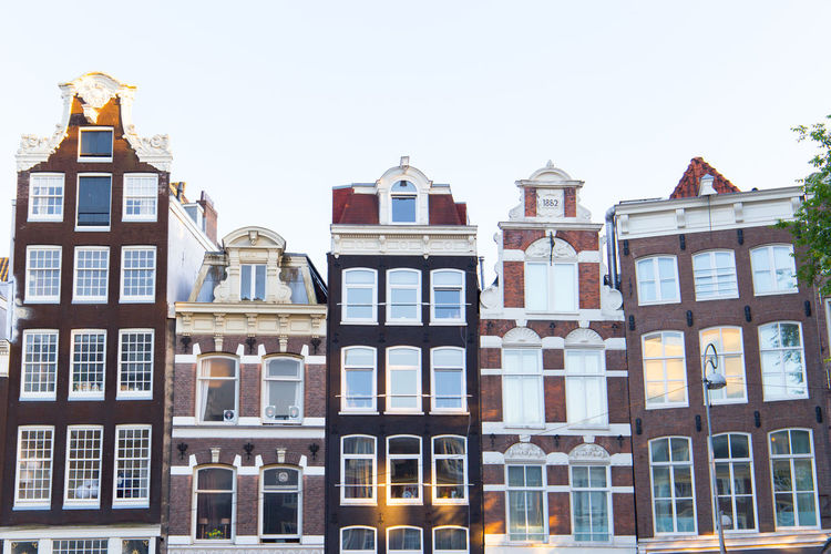 Amsterdam Netherlands Canal Houses Dutch Architecture Dutch Houses Holland Singel