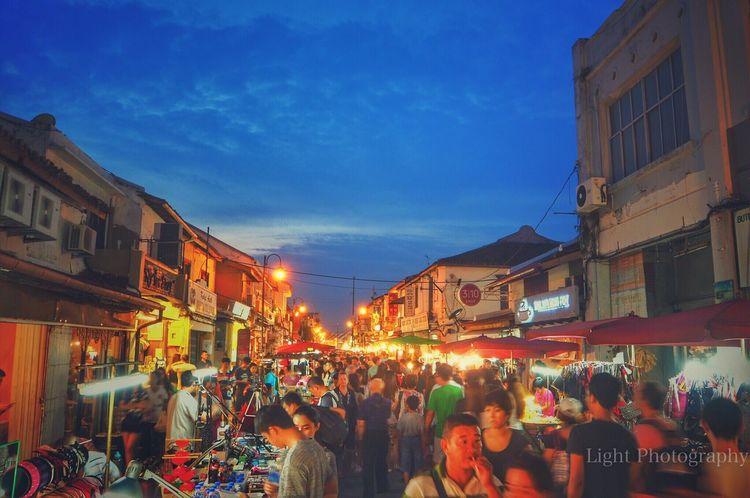 Melaka Holiday2016 Streetfood Nightphotography