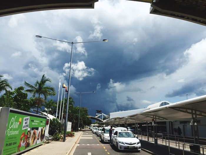 Approaching thunder storm in Darwin. Welcome to the wet season.
