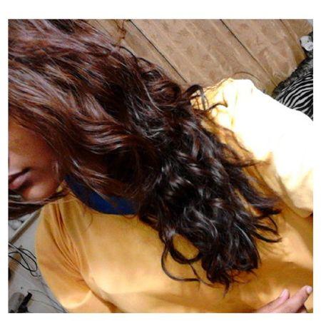 No_edits Natural Hair Color curly