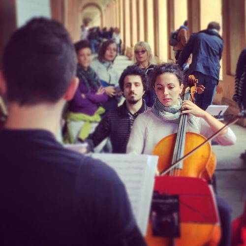 Bologna, Italy Sanluca Senza Spine Musician Orchestra
