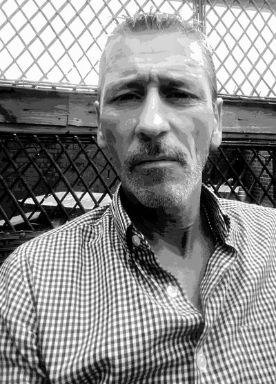 That's Me Waiting Fraught Portrait Of A Man  Black And White Not Loving It Black And White Photography Looking At Me I'm Usually Behind The Lens