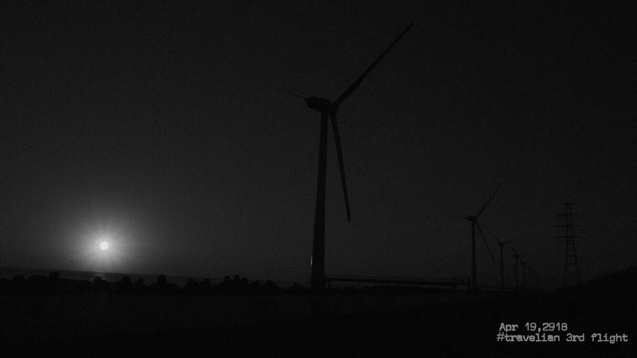 Apr 19,2018 いちのみやひろかズ Group Exhibition Travelian Travelian3rdflight Lightandshadow Lihts And Shadows Black And White Blackandwhite Monochrome_life Monochrome My Wallpaper Of Today TODAY'S MY WALLPAPER Sky Night No People Nature Technology Fuel And Power Generation Communication