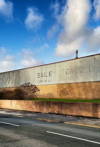 Manchester Gorton Warehouse Sunny