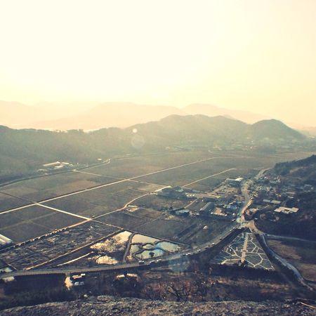 사자바위 위에서 바라본 봉하마을 Rohmoohyun 노무현 Rest In Peace 봉하마을