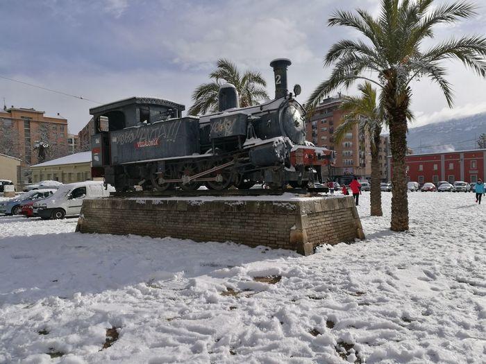 Nieve en Alcoy Winter Snow Alcoy Cold Temperature ColdMorning Cold Day Winter