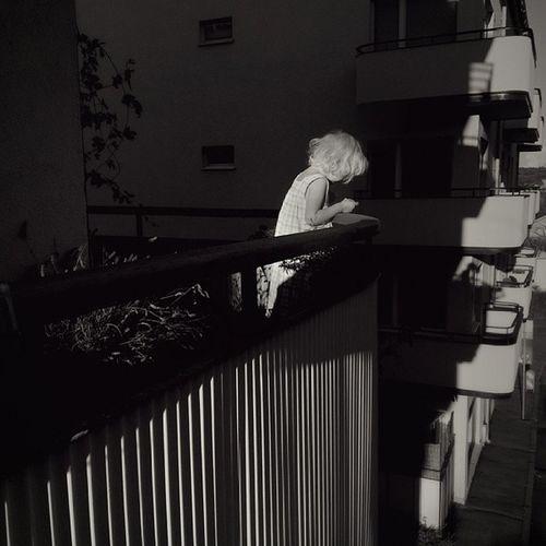 Balkongbarn Septemberljus September Igersgothenburg balkong