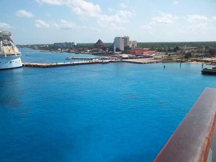 Mexico Isla Cozumel Cozumelmexico Puertamaya Carnival Cruise Tropical Paradise