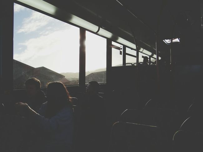 Bus Traveling Wellington  Newlands