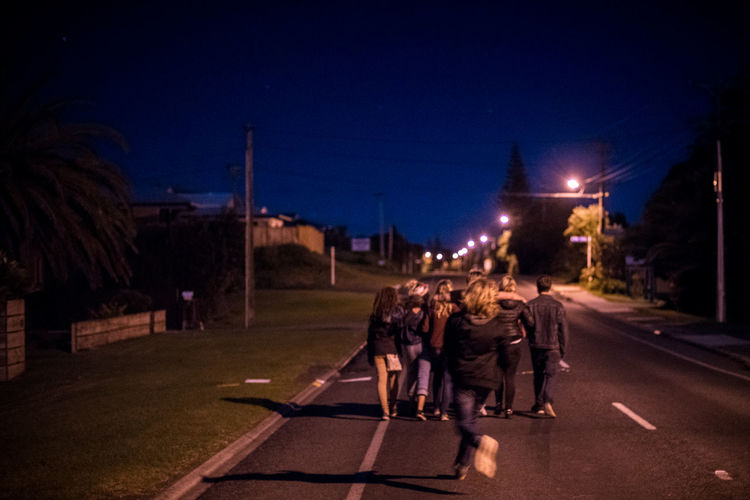 Connected By Travel EyeEm Selects Night People Outdoors New Zealand Mood Group