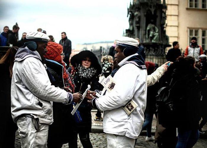 Eine Stunde in Prag/One Hour in Prague Prag Prague Czech Tschechien Streetphotography Marshmallow Ghostbusters Matrose
