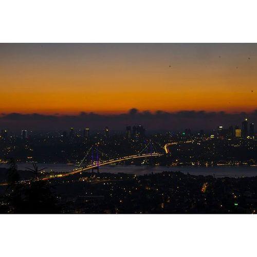 Istanbul View From  çamlıca Bhosphorus