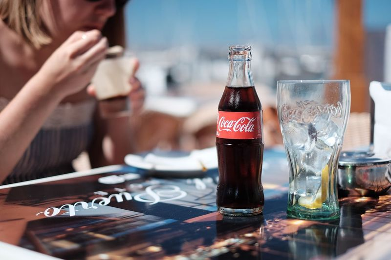 Refresh - Fujifilm X-T1 - 35mm F1.4 Food And Drink Refreshment Drink Beverage Table F1.4  35mm FUJIFILM X-T1 X-T1 Coke Cola Lanzarote Dof Shallow Depth Of Field