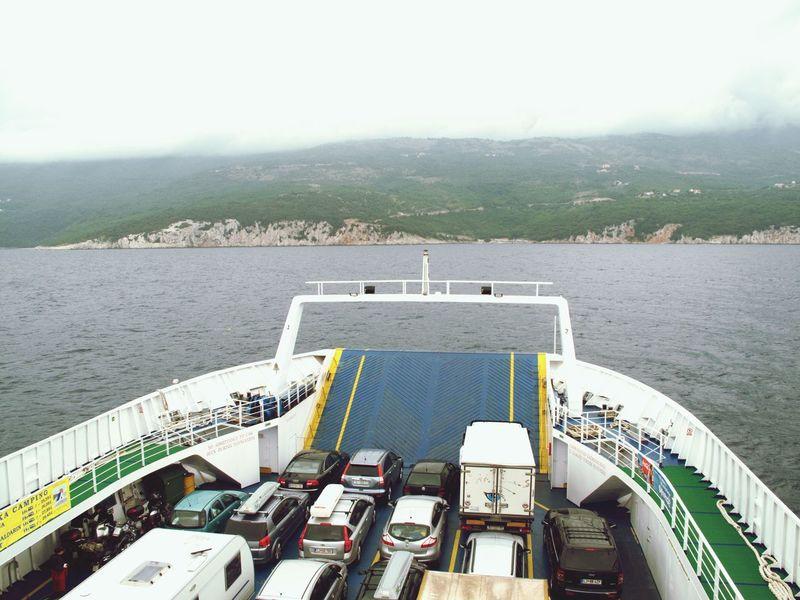 Ferry Sea Kroatien Kroatia OpenEdit Eye Em Around The World Car Traveling