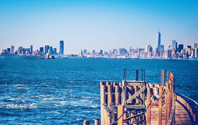 Finally visited the city I was dying to go for the last 5 years. Reliving my memories from a trip taken a month ago.. glad it waa just the way I expected it to be... NYC Nycskyline  Statue Of Liberty Travelphotography My Travel Diaries Holiday Memories